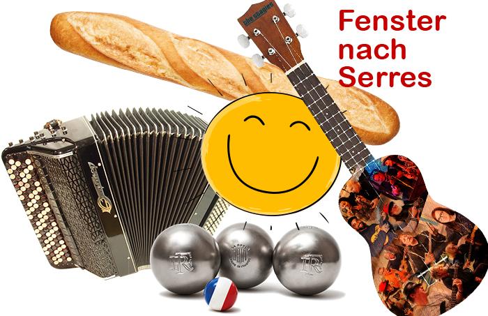 Fenster nach Serres – Französischer Nachmittag mit Boule und Musik